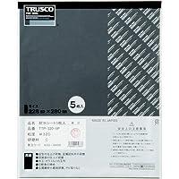 TRUSCO 耐水ペーパー 228X280#100 5枚入 TTP1005P
