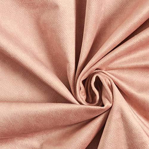 Tela para muebles y tapicería Terciopelo adecuado para mascotas – rosa antiguo — Mercancia al metro a partir de 0,5m — Oeko-Tex Standard 100 Clase del producto II — para coser de Asiento y Mantas