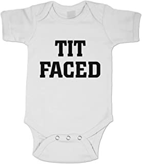 Midbeauty Tit Faced Summer Baby Sleeveless Romper One-Piece Bodysuit Jumpsuit Outfits