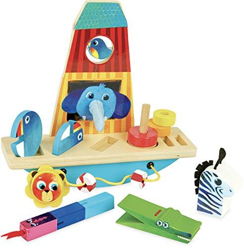 Arche d'éveil animaux multi-activités pour enfants - Vilac - 2474