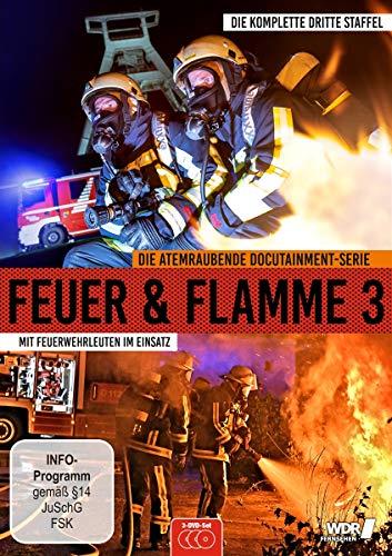 Feuer & Flamme: Mit Feuerwehrmännern im Einsatz - Die komplette dritte Staffel [3 DVDs]