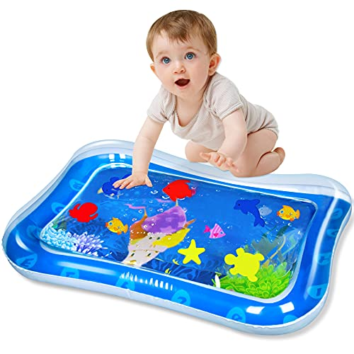 SEPHIX Baby Water Toys 0-3-6-12 Months Boys Gifts, Infant Toys 3-6 Months Newborn Inflatable Water Tummy Time Play Mat, Activity Center for Babies Learning Sensory Toys for Toddlers Age 1 Year Old Boy