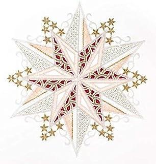 Plauener Spitze fen/être Printemps de Couleur D/écoration de fen/être fen/être Bijoux Photos /à la Main D/écoration Fen/être