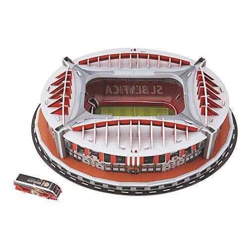 Puzzle 3D Estadio Modelo de Rompecabezas Tridimensional del Estadio Videojuego de Lógica para Niño Niña (Sport Lisboa e Benfica)