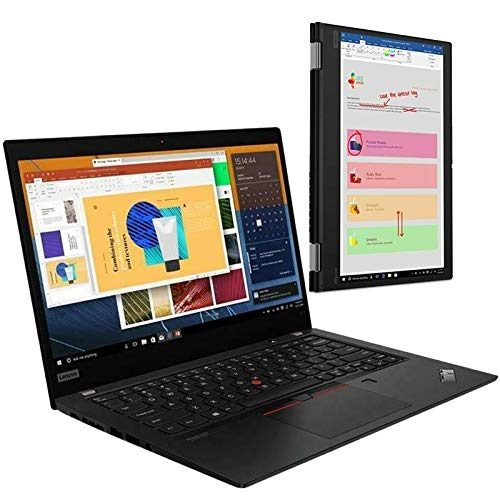 Lenovo ThinkPad X13 Yoga 13.3' Gen 1 2-in-1 Convertible Foldable Laptop / Tablet Core i7-10510U CPU 16GB RAM 512GB SSD Windows 10 Pro 20SX0041UK
