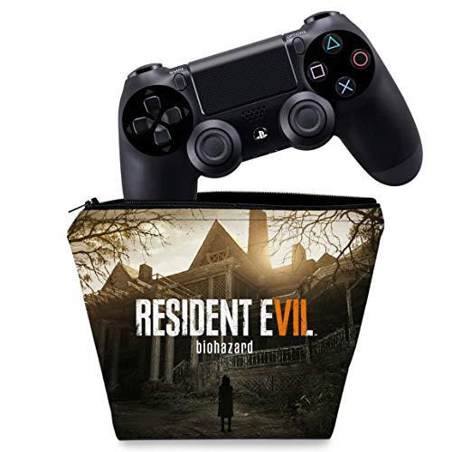 Capa PS4 Controle Case - Resident Evil 7: Biohazard