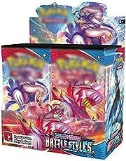 Pokemon Box, Pokemon Kaarten, Pokemon Booster Boxen, Pokemon Kaarten Booster Packs, Pokemon Kaarten Pakket, Zeldzame Kaarten Verzamel Cadeau voor Kinderen Anime Fans