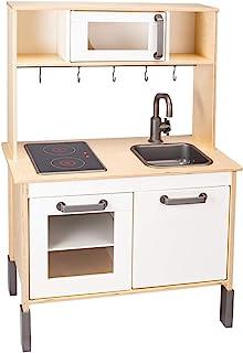 Ikea Duktig Mini-آشپزخانه ، تخته سه لا توس ، سفید