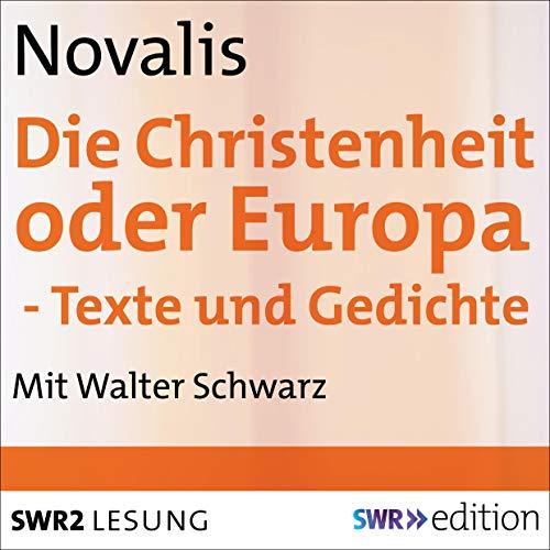 Die Christenheit oder Europa cover art
