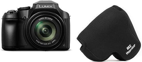 PANASONIC LUMIX FZ80 4K Digital Camera, 18.1 Megapixel Video Camera, 60X Zoom DC Vario 20-1200mm Lens, F2.8-5.9 Aperture &...