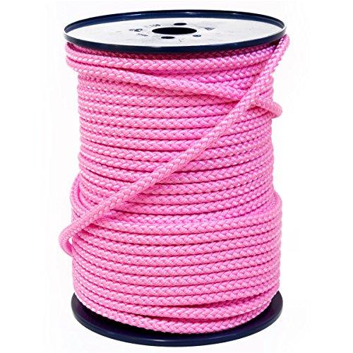 FTM Springseil Tau Seil, PP, Rosa Pink, Meterware von der Rolle, Ø 9mm (10 Meter)