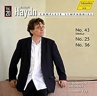 Haydn: Complete Symphonies, Vol. 20 - Nos. 43, 25, 36 by Heidelberger Sinfoniker (2013-08-27)