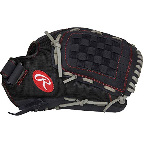 "Rawlings Renegade 12 1/2"" BB/SB, R125BGS-6/0 Gloves, Right Hand Throw"