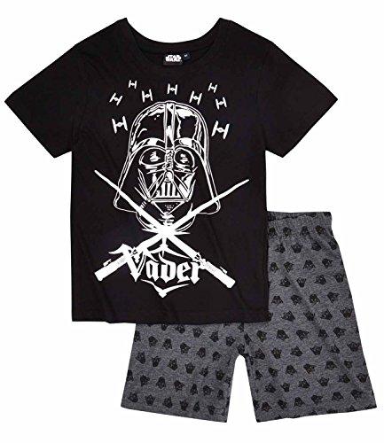 Star Wars-The Clone Wars Darth Vader Jedi Yoda Jungen Shorty-Pyjama - schwarz - 128