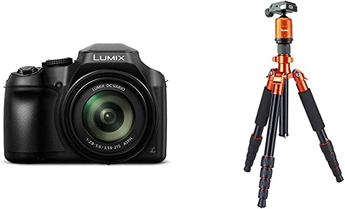 Panasonic Lumix Dc Fz82 Bridgekamera Und Rollei Kamera