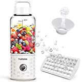 Portable Blender, PopBabies Personal Blender for Shakes and Smoothies Battery Powered USB Blender...