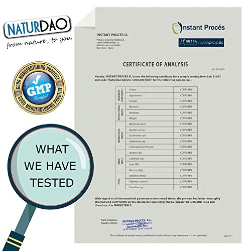 NATURDAO - 60 Comprimidos - DAO VEGETAL - Déficit de DAO