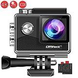 Campark X15 4K Action Cam Touchscreen EIS Stabilisierung WiFi Unterwasserkamera 16MP 170 ° mit 2...