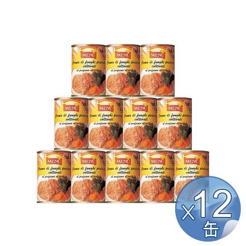 Menu キノコペースト・トリュフ風味 400g 12缶セット