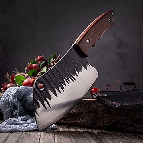 Cuchillos de cocina 5CR15 440C Cuchillos de corte multifuncionales de acero inoxidable de alta...