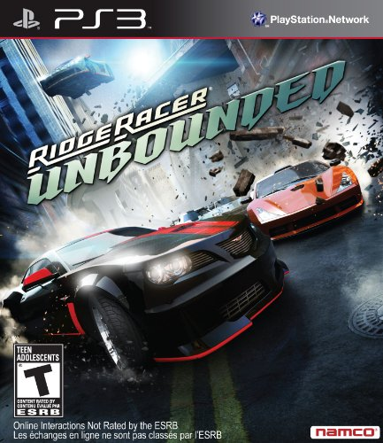 Namco Bandai Games Ridge Racer: Unbounded, PS3