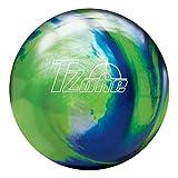 Brunswick Tzone Ocean Reef Bowling Ball Tzone Ocean Reef Bowling Ball, Green/Blue/Silver, 11 lb