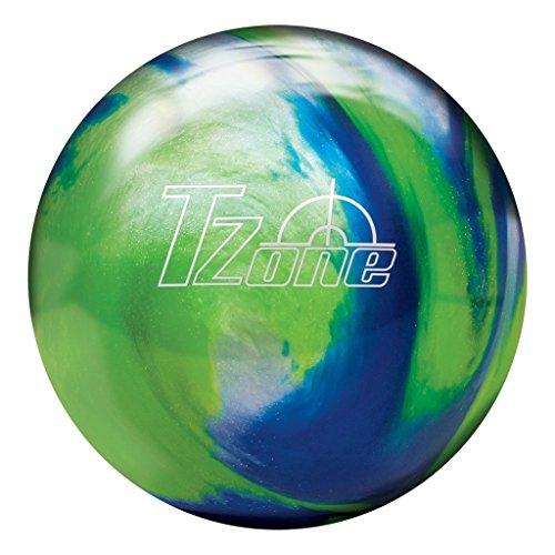 Brunswick Tzone Ocean Reef Bowling Ball Tzone Ocean Reef Bowling Ball, Green/Blue/Silver, 13 lb