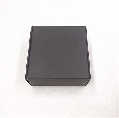 Amazon.com: Caja de regalo de papel kraft de color marrón de ...