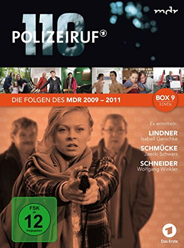 Polizeiruf 110 - MDR-Box 9 [3 DVDs]