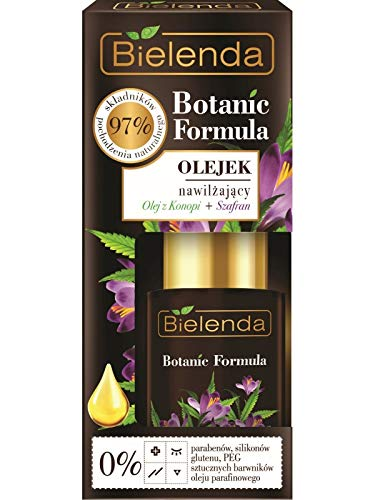Bielenda Fórmula botánica hidratante cara suero aceite de cáñamo y