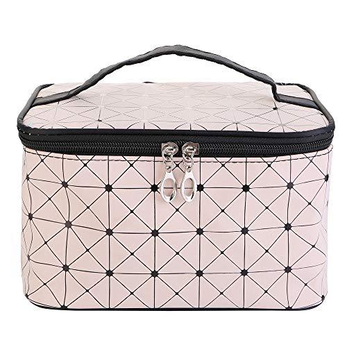 Grand Make Up sac de rangement Nail Tech cosmétiques Boîte Vanity Case Voyage Bijoux (Color : C)