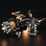 HYQX Kit de luces LED para Lego 71736 NINJAGO Legacy Boulder Blaster Avión, Luces Juego de iluminación compatible con Lego 71736 (juego de luces LED solamente, sin kit de lego)
