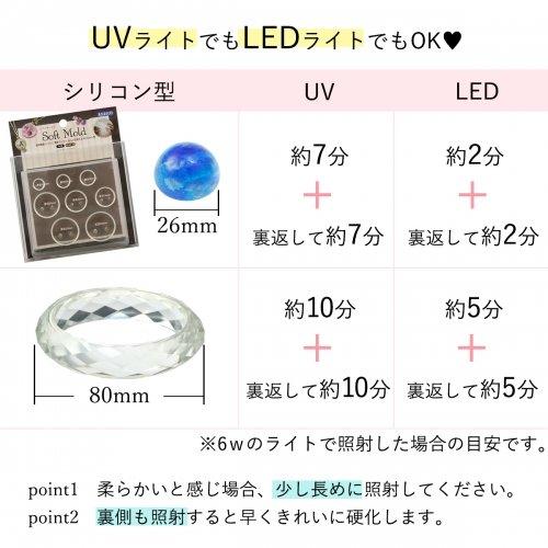 GreenOceanUV-LEDレジン液25g熊五郎の涙ナチュラルクリアのトリフェーン