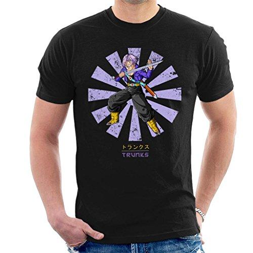 Cloud City 7 Trunks Retro Japanese Dragon Ball Z Men's T-Shirt