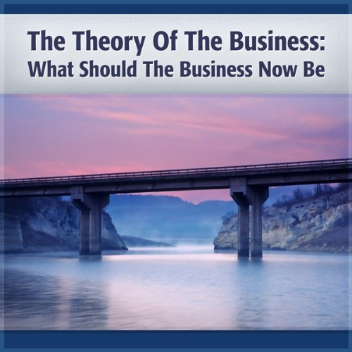 Theory of the Business audiobook cover art