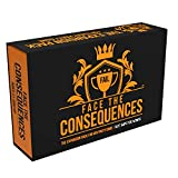 Face The Consequences: Not Safe for Wimps -- The Universal Adult Expansion Pack for Any Party Game - Hilarious Addition to Game Night with Friends, Families, or Foes - 120 Full Color Cards Included