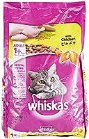 طعام جاف للقطط من ويسكاس تشيكن لعمر سنة وما فوق وزن 1.2 كغم