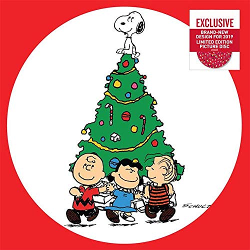 A Charlie Brown Christmas - Exclusive Limited Edition Picture Disc Vinyl 2019 Edition