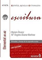 Anaya ELE EN collection: Escritura - nivel elemental A1-A2