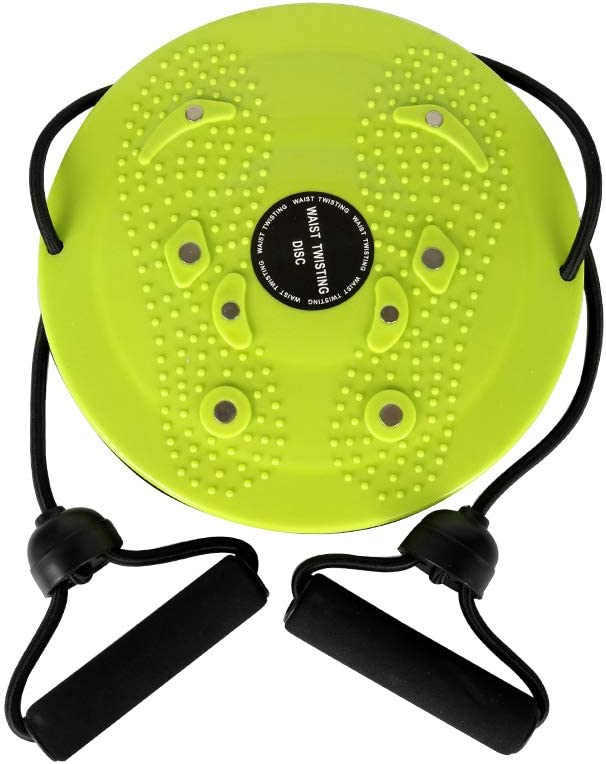 Twist Board with Resistance Bands Waist Disc for Fitne Spring new work one Quality inspection after another Twisting
