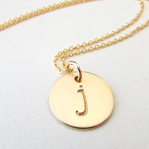 Necklace-Lowercase Initial Necklace or Pendant