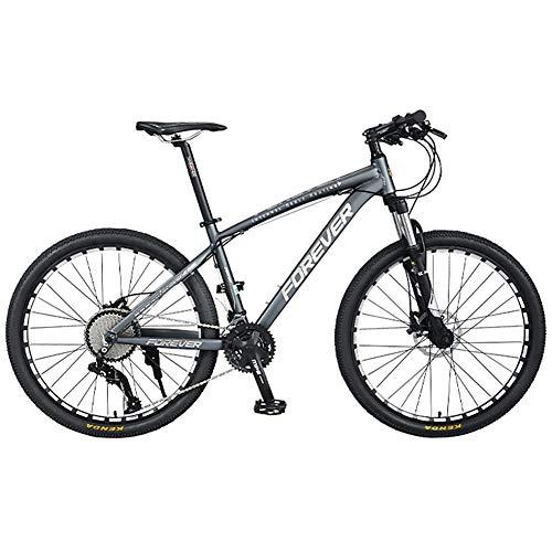 Mountain Bike per Tutti i Terreni per 36 velocità, Bici da 26 Pollici Hardtail Mountain Trail Bike con Forcella Ammortizzata Leggera Sospensione Completa Mountain MTB Bicicletta in Lega di Alluminio
