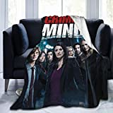 CRI-Minal Minds Soft Weight Warm Fleece Blanket Throw for Couch Bed Traveling Camping Home 80'X60'