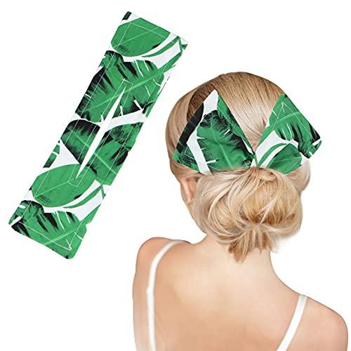 LOVVIY Moño Deft Bun para Hacer Moños Pelo, Cinta pelo Mujer, Para el Pelo Accesorios, Adecuado para Accesorios pelo Trenza y Accesorios para el Pelo Mujer (Verde)
