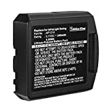 Akku-King Akku kompatibel mit Bluetooth-Headset SARABEC InfraLight Swing, Digital, Digital TV, IR - ersetzt AP12A / AP121A - Li-Polymer 240mAh