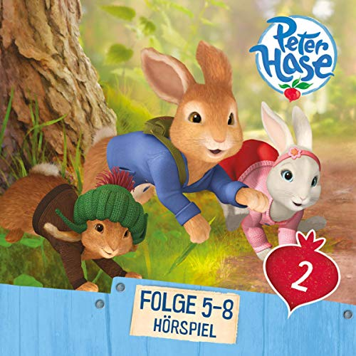 Peter Hase 5 - 8 audiobook cover art