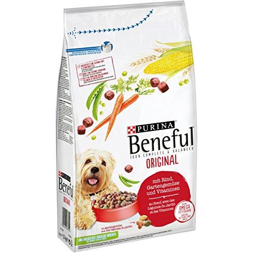 Purina Beneful Hundetrockenfutter Original (mit Rind und Gemüse), 1.5kg