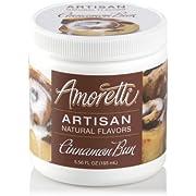Amoretti Natural Artisan Flavor Cinnamon Bun, 5.56 Fluid Ounce