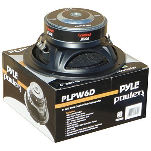 SUBWOOFER PYLE PLPW6D DE 300 WATT RMS Y 600 WATT MAX 6,5
