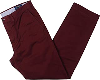 Polo Ralph Lauren Straight Fit Stretch Chino Classic Wine 36